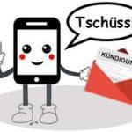 Handyvertrags-Kündigung per Post verschicken.