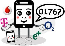 0176 Netz Vorwahl Anbieter