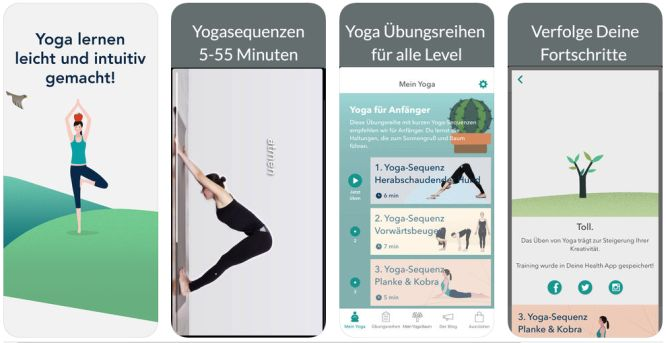 Yoga-Apps für's iPhone