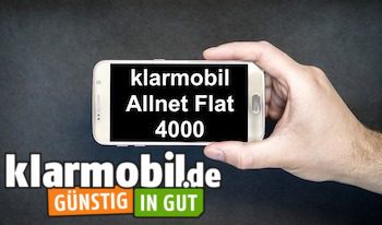 Der umfassende klarmobil Allnet Flat 4000 Handytarif Test