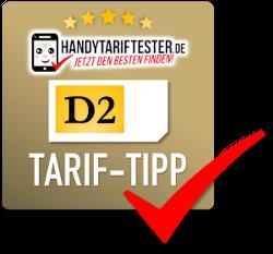 D2 Prepaid-Tarif Tipp